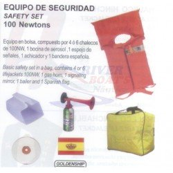 EQUIPO DE SEGURIDAD SAFETY SET 4X150N