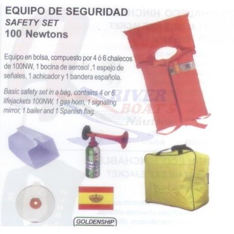 EQUIPO DE SEGURIDAD SAFETY SET 4X150N