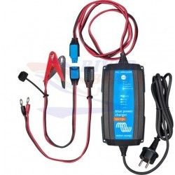 CARGADOR BATERÍAS Blue Power IP65 Charger 24/8 + DC connector