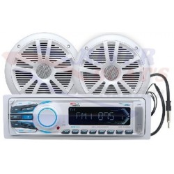 RADIO AM/FM/USB/MP3/SD/AUX CON ALTAVOCES 164mm