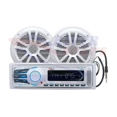RADIO AM/FM/USB/MP3/SD/AUX CON ALTAVOCES 164mm