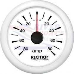 AMPERIMETRO ±80A BLANCO