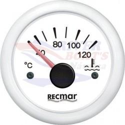 INDICADOR TEMPERATURA AGUA 40/120ºC BLANCO