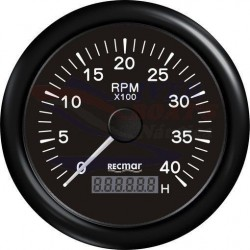 CUENTAVUELTAS 1.0/10.0 - 0/4000 RPM NEGR