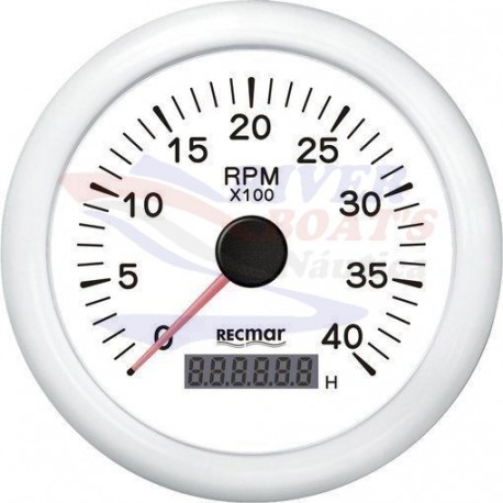 CUENTAVUELTAS 1.0/10.0 - 0/4000 RPM BLAN