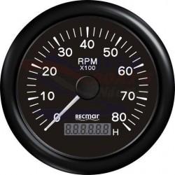 CUENTAVUELTAS 1.0/10.0 - 0/8000 RPM NEGRO