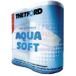 AQUA-SOFT TISSUE (4 ROLLOS)