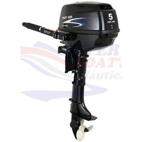 MOTOR PARSUN 4T -5 H.P. MANUAL/LARGO