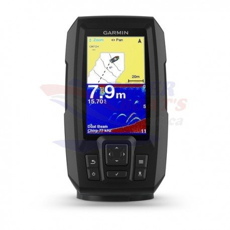 GARMIN STRIKER™ Plus 4 con transductor de doble haz
