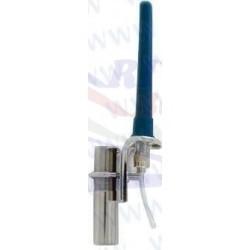 ANTENA VHF GLOMEX DE AIS- 140 MM -GOMA - 9 M CABLE