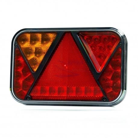 PILOTO TRASERO LED 6 FUNCIONES 12V FT-270 LED