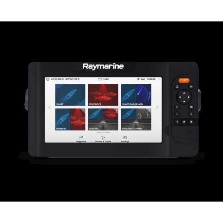 "RAYMARINE ELEMENT 9 S - GPS y CHIRP, 9"", WiFi, sin carta"