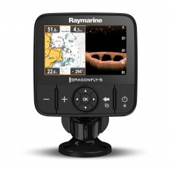 "RAYMARINE DRAGONFLY 5PRO - GPS y CHIRP/DownVision, 5"", CPT-DVS, WiFi, sin carta"