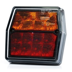 PACK PILOTOS TRASEROS LED 3/4 FUNCIONES 12V FRISTOM FT-222 LED