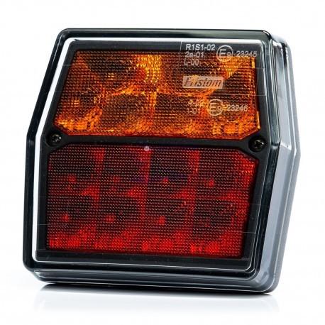 PILOTO TRASERO LED 3/4 FUNCIONES 12V FRISTOM FT-222 LED