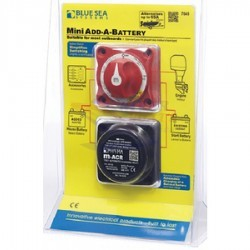 "INTERRUPTOR BATERÍA/RELÉ MINI CARGA AUTOMÁTICA ""ADD-A-BATTERY"" 65A"