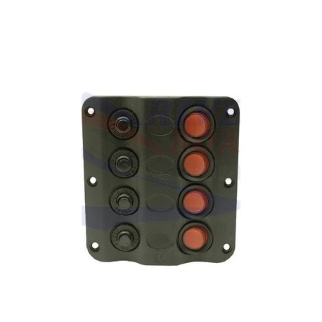 PANEL INTERRUPTOR LED 4 CONECTORES